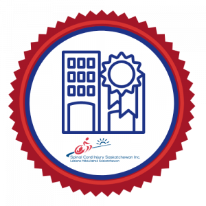 SCI SASK Accessibilty Strategy Logo