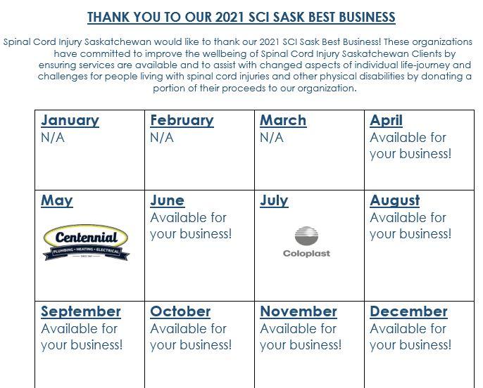 Best bsuiness calendar update April 26