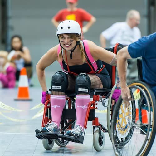 Wheel Chair Relay